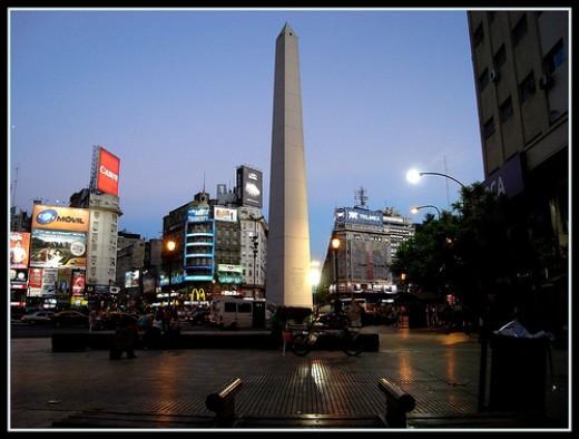 Obelisco - Buenos Aires famous argentina landmark