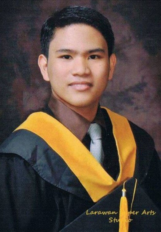 Jerwin Tubay, CPA  - A graduation picture taken April 2011