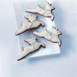 Iced Spice Reindeer Cookies