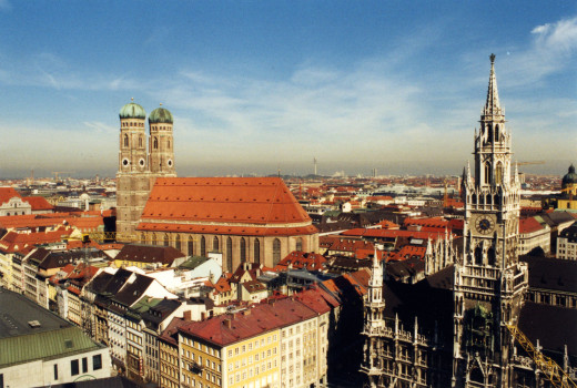 The actual city Munich is quaintly cosmopolitan. The movie Munich is listed by online medical sites as a risk factor of depression.