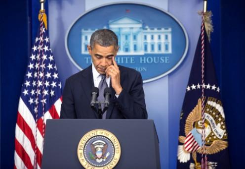 President Obama after Sandy Hook