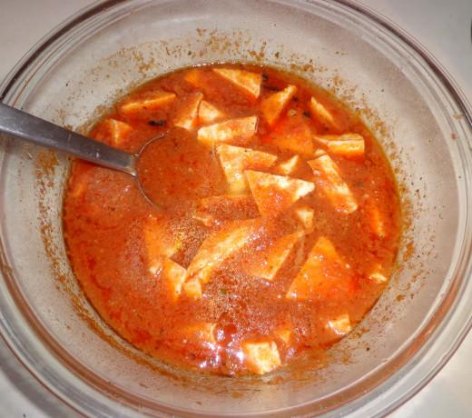 Paneer got cooked well