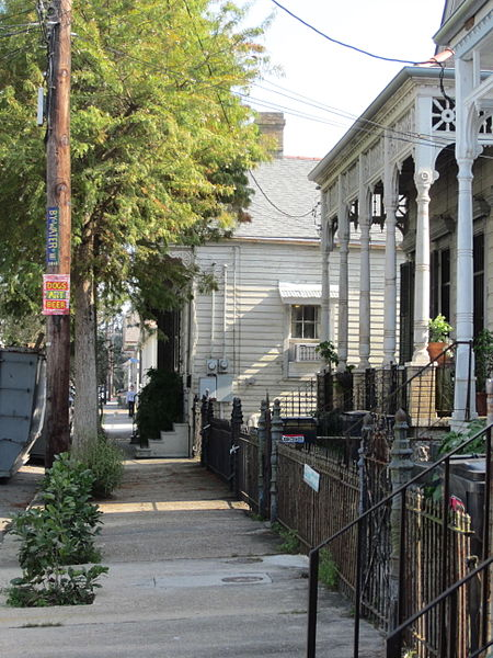 Bywater neighborhood in New Orleans, LA.  Photo by Infrogmation
