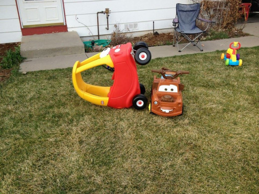 Take a look in your backyard! Train up a child to tip toy smart cars when he is young and when he is old he will tip real smart cars.