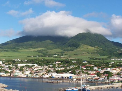Basseterre, capital of St. Kitts.  Photo by J. Stephen Conn