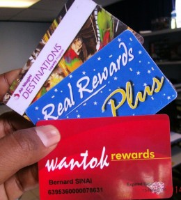 I personally am a member of all these loyalty reward programs.