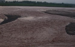 When exactly did the Ghaggar River dry?