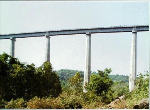 The Viaduct is Taller than Qutb Minar, Delhi