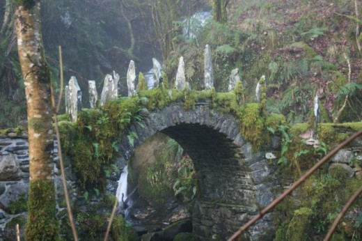 A bridge known to be where the fairies cross.