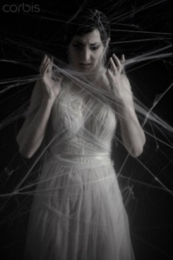 Confusion is comparable to spider-webs entrapping its victim