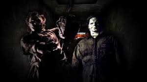 Michael Myers and LeatherFace