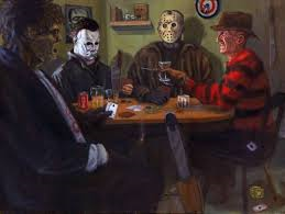 Playing cards deciding who dies this Friday the 13th