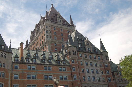 Chateau-Frontenac in Quebec City