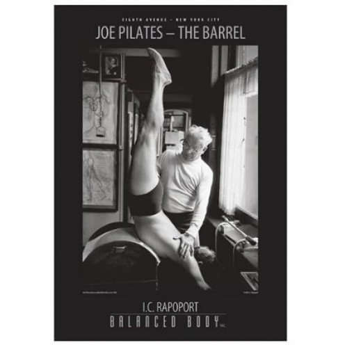 I.C. Rapoport Photographs, Joe Pilates, The Barrel by Balanced Body