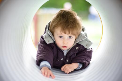 Toddlers may not appreciate danger