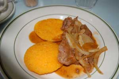 A Venezuelan version of Liver and Onions.