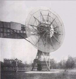 Early examples of Wind Power Generation
