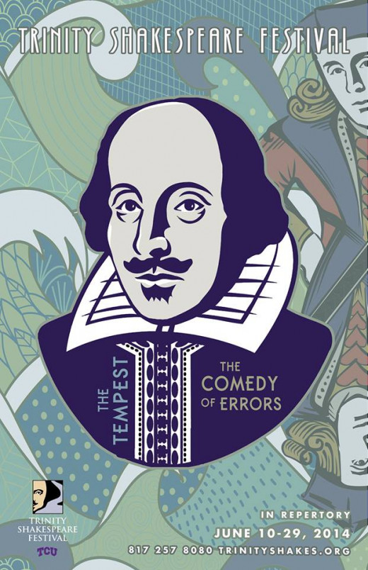 This year, Trinity Shakespeare is offering A Comedy of Errors and The Tempest in repertory.