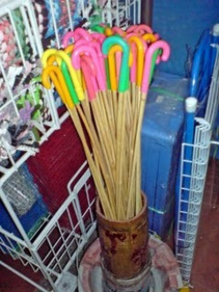 Rattan canes are cheap and easily available.