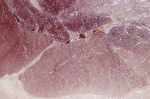 A slice of ham