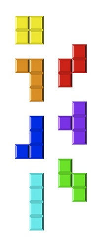 Original Tetris Pieces