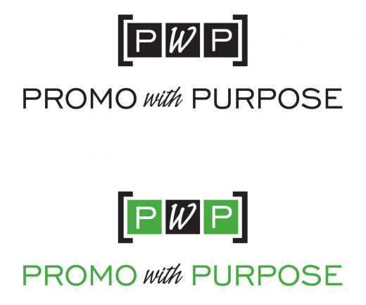 "This logo is successful in both black-and-white and color. As well, the ""PWP"" graphic could be used alone if space does not permit including the text below it."