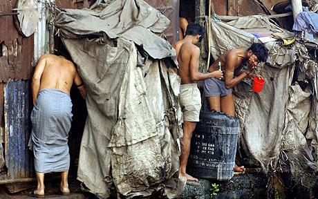 97% of the homeless population in Mumbai India have a family member who works full time.