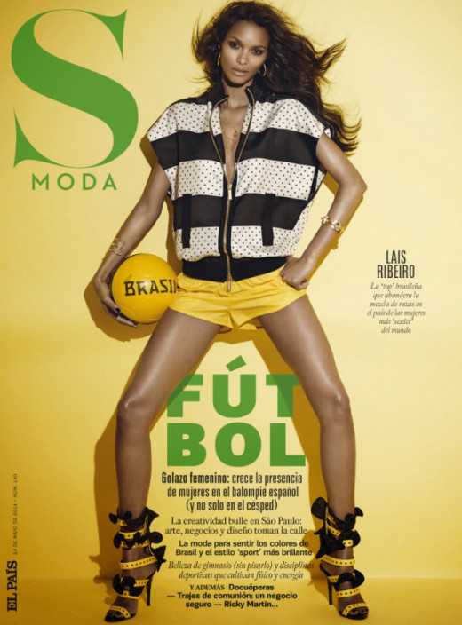 A sporty fashion editorial for S Moda magazine's May 2014 issue.
