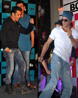 On Sunday evening two of the biggest Khan's in the bollywood had another clash! Watch this video to know more! Visit Biscoot showtym for more bollywood news http://www.biscoot.com/showtym