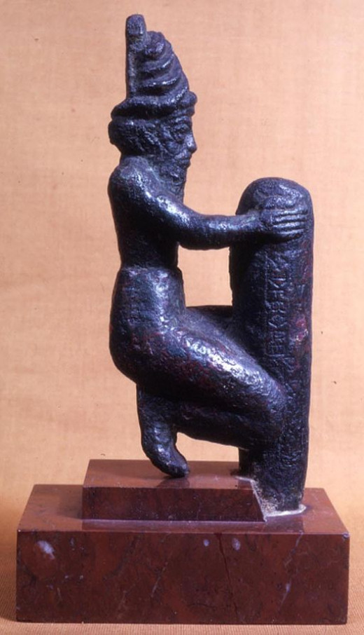 A Sumerian Deity