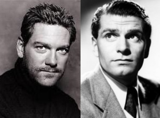 Branagh and Olivier, two of the greatest Shakespearean actors to ever appear on screen and stage.