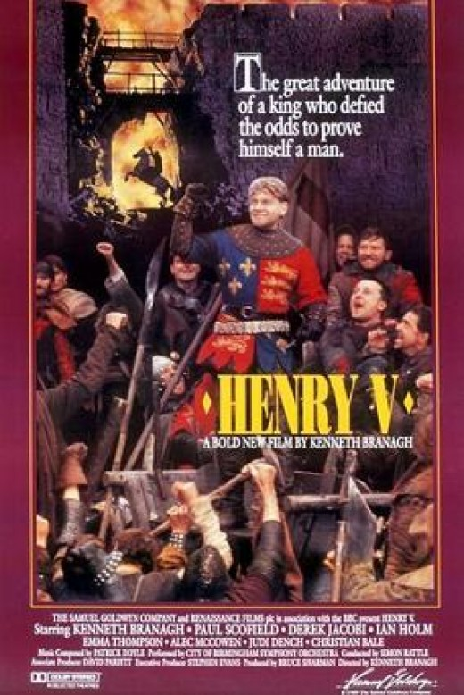 The original poster for Branagh's Henry V