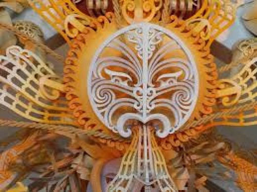 This is the Maori Sun God