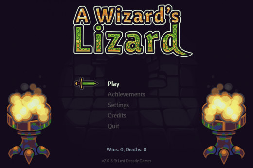 A Wizard's Lizard owned by Lost Decade Games. Images used for educational purposes only.