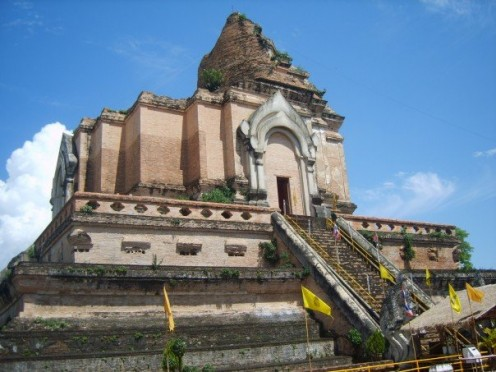 An old temple in Chiang Mai