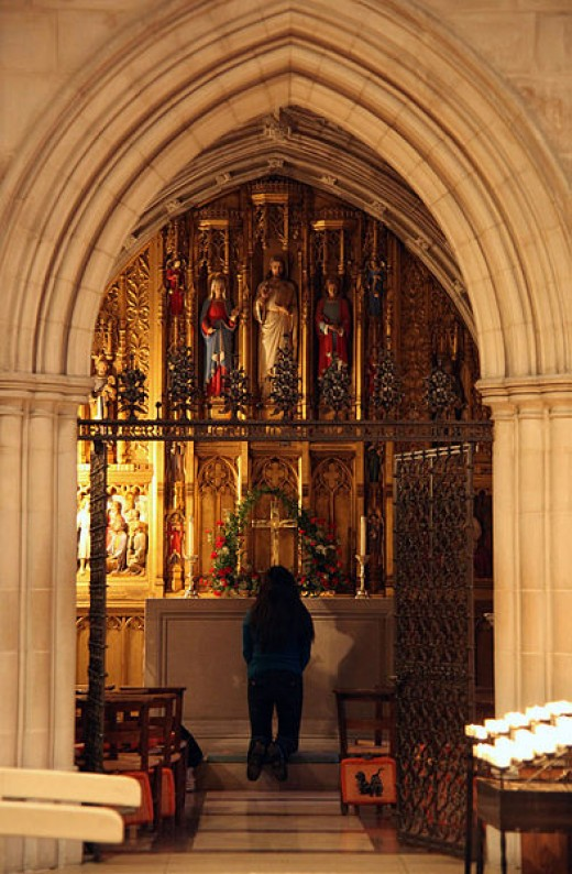 Children's Chapel at the Washington National Cathedral in Washington, D.C.  Photo by Tim Evanson