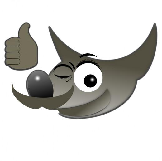 GIMP - custom logo