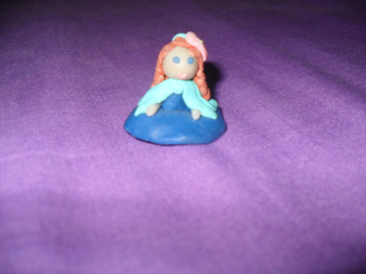 Clay Figurine: Front