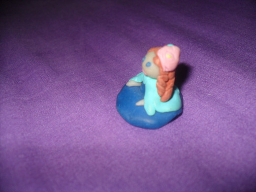 Clay Figurine: Side