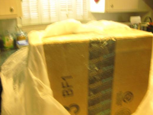 I open the box...hesitantly.
