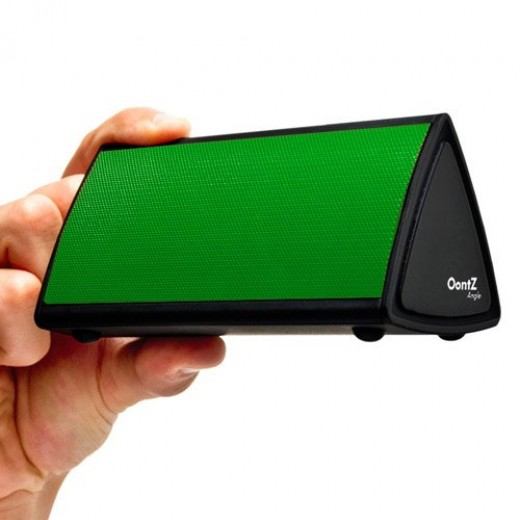 The OontZ Angle Bluetooth Enabled Wireless Ultra Portable Speaker(Green)
