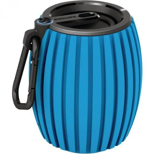 Philips SoundShooter Ultra Portable Wireless Bluetooth Speaker(Blue)