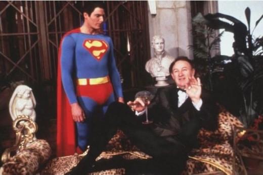 Gene Hackman in 1978 as Lex Luthor.