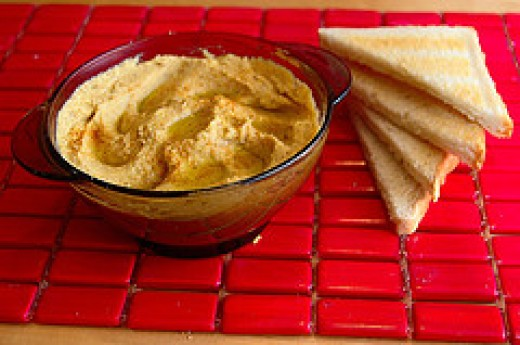 Bean dips are one of the best protein snacks because they're easy to make.