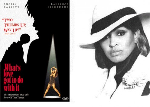 (Left) Tina Movie (Right) Photo Great Entertainer & Dancer Tina Turner