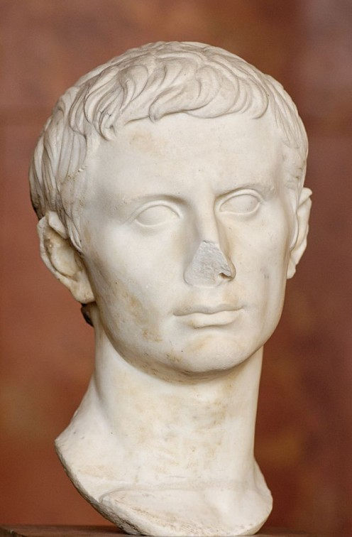 Caesar's heir Octavian