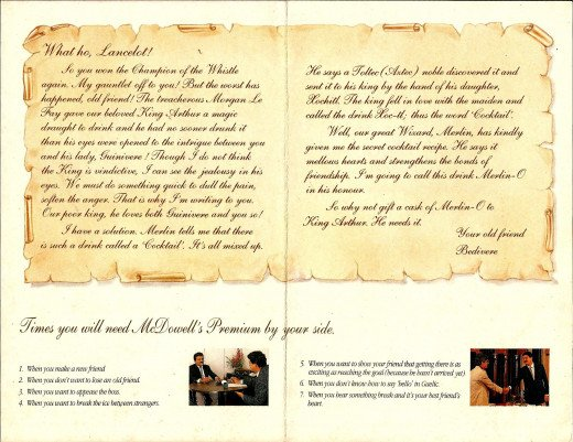 Sales Letter 2 In Direct Mail Campaign For Whisky