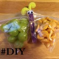 Making Fun Snack Baggies for Kids Using Clothes Pins