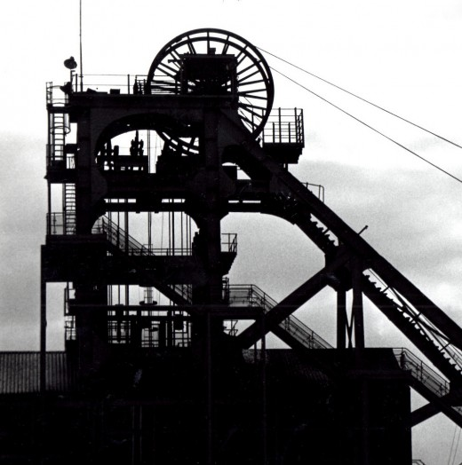Colliery in England