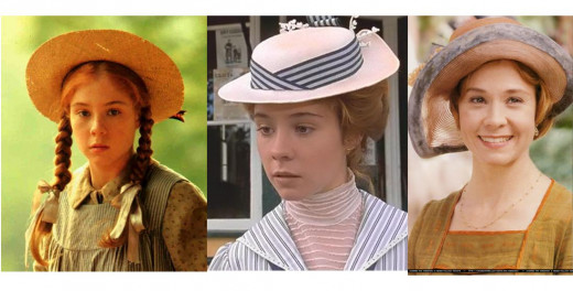 Anne Shirley played by Canadian Actress Megan Follows in the movie sequel.